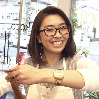 越谷 美容院 koco 美容師